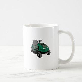 Lawnmower Basic White Mug