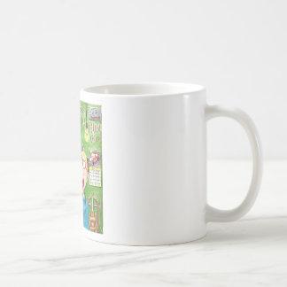 Lawnmower Fix Basic White Mug
