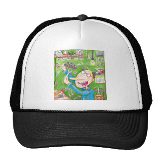 Lawnmower Fix Mesh Hats