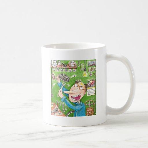Lawnmower Fix Mugs