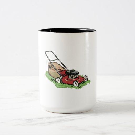 Lawnmower Coffee Mugs