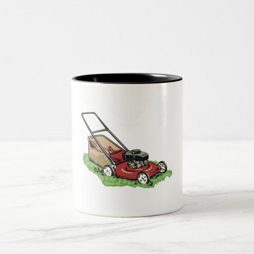 Lawnmower Coffee Mug