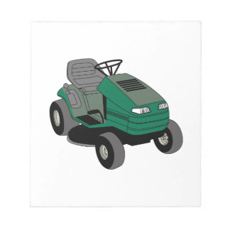 Lawnmower Notepad