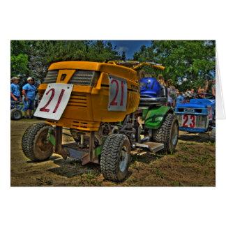 Lawnmower Racing Card #4 - Blank