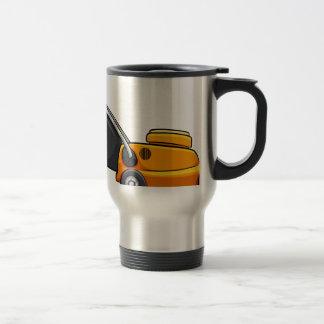 Lawnmower Stainless Steel Travel Mug