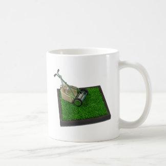LawnmowerOnTheGrass100711 Basic White Mug