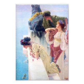 Lawrence Alma Tadema A Coign of Vantage Art Photo