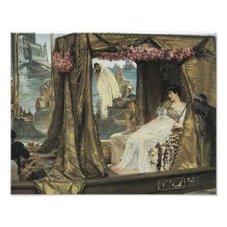 """Lawrence Alma-Tadema """"Anthony and Cleopatra"""" Print Photo"""