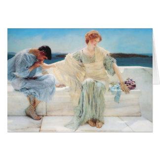 Lawrence Alma Tadema Ask Me No More Cards