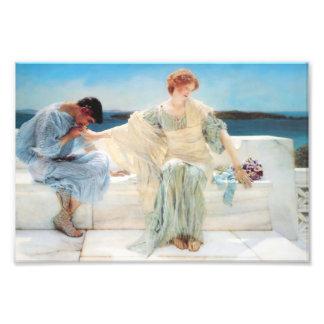 Lawrence Alma Tadema Ask Me No More Photo Print