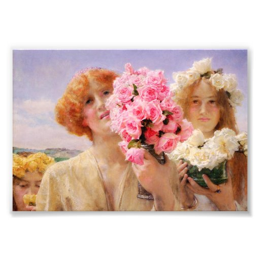 Lawrence Alma Tadema Summer Offering Photograph