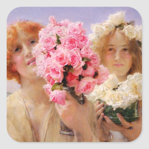 Lawrence Alma Tadema Summer Offering Stickers