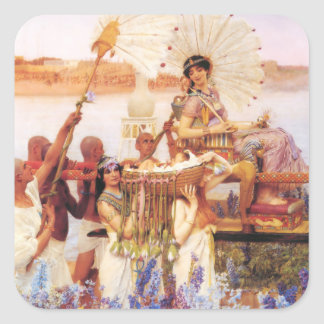 Lawrence Alma Tadema The Finding of Moses Stickers