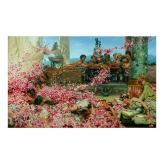 Lawrence Alma-Tadema The Roses of Heliogabalus Poster