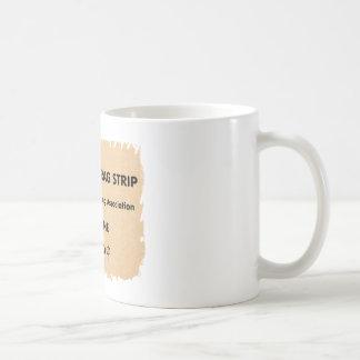 Lawrence Drag Strip Basic White Mug