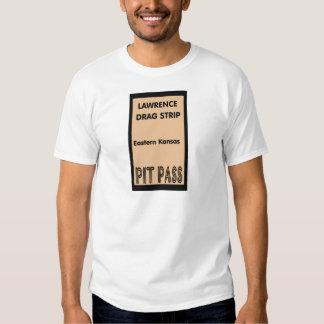 Lawrence Drag Strip Pit Pass Tee Shirt
