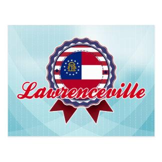 Lawrenceville, GA Postcard