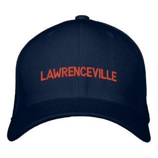 Lawrenceville Old Fashioned Ballcap Embroidered Baseball Cap