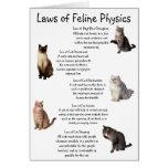 """Laws of Feline Physics"""