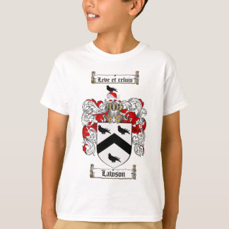LAWSON FAMILY CREST -  LAWSON COAT OF ARMS T-Shirt