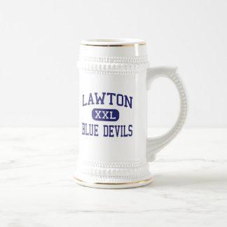 Lawton - Blue Devils - High - Lawton Michigan Coffee Mug