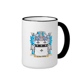 Lawton Coat of Arms - Family Crest Ringer Mug