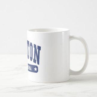 Lawton Oklahoma College Style tee shirts Basic White Mug