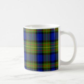 Lawton Scottish Tartan Basic White Mug
