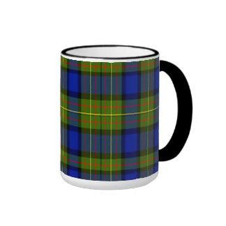 Lawton Scottish Tartan Ringer Mug
