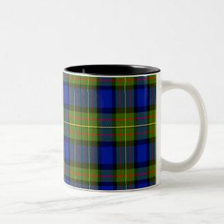 Lawton Scottish Tartan Two-Tone Coffee Mug