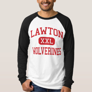 Lawton - Wolverines - High - Lawton Oklahoma T-Shirt