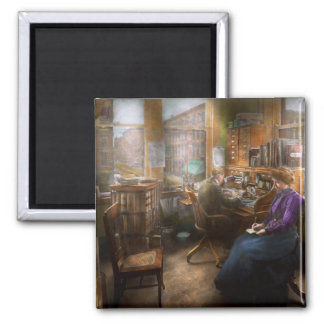 Lawyer - Always taking notes - 1902 2 Inch Square Magnet