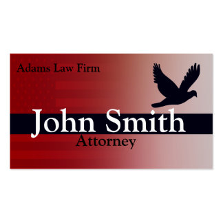 Lawyer And Attorney Pack Of Standard Business Cards