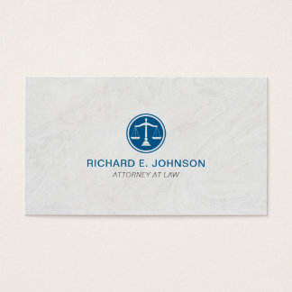 Lawyer Blue Scales of Justice Marble Background