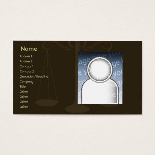 Lawyer - Business Business Card