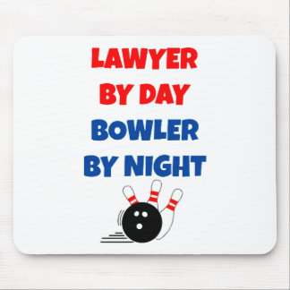 Lawyer by Day Bowler by Night Mouse Mat