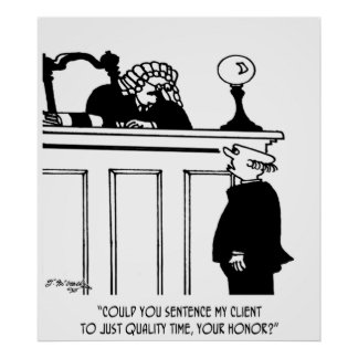 Lawyer Cartoon 5298 Poster
