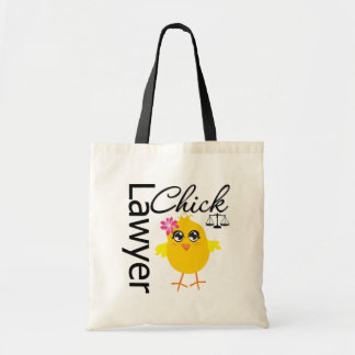 Lawyer Chick Canvas Bag