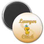 Lawyer Chick Refrigerator Magnets