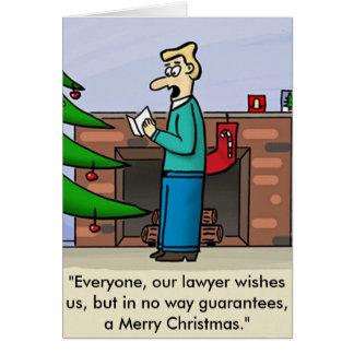 Lawyer Christmas Card
