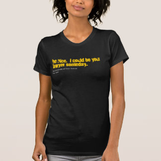 Lawyer Customize your school shirt