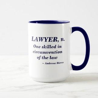 Lawyer Definition Mug
