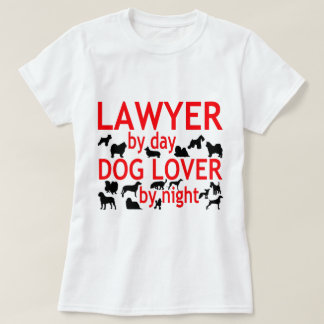 Lawyer Dog Lover T-Shirt