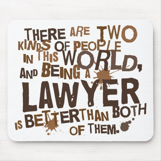Lawyer Gift Mouse Mat