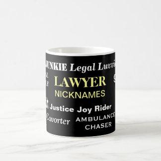 Lawyer Gift Mug - Funny Insult Names - Nicknames