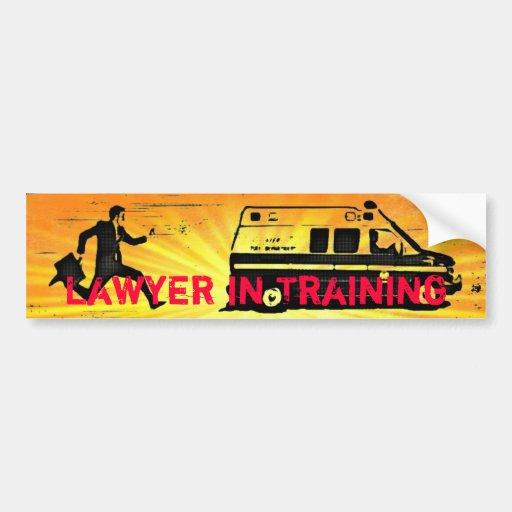 Lawyer in Training Bumper Sticker