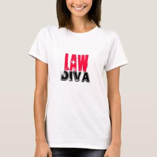 Lawyer~ Law Diva T-Shirt