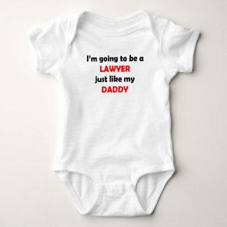 Lawyer Like My Daddy Baby Bodysuit
