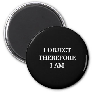 Lawyer Magnet: I Object... 6 Cm Round Magnet