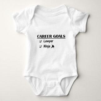 Lawyer Ninja Career Goals Baby Bodysuit